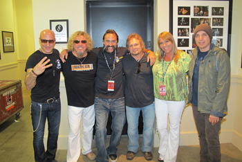 Chickenfoot with Robert Nimocks and Renee Nimocks of Raw Horsepower