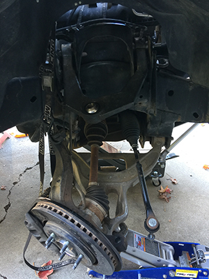 disassembly for Icon install 3.0 Ford Raptor