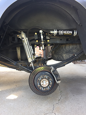 Icon RXT suspension Ford Raptor